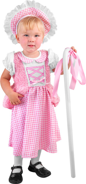 Toddler Pink Little Bo Peep Costume