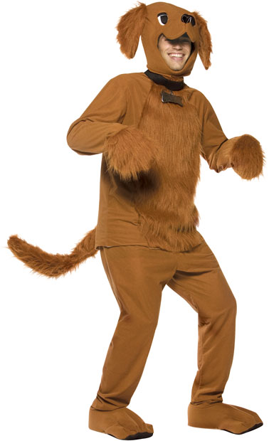 Adult Deluxe Puppy Dog Costume