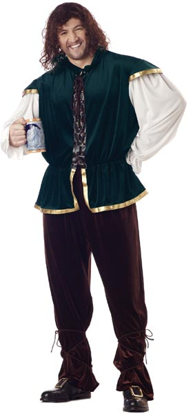Plus Size Tavern Man Costume