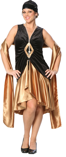 Plus Size Roaring 20s Costume Dress | Charleston Dress ...
