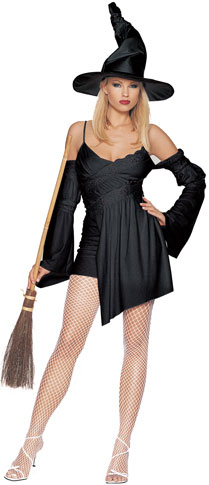 Sexy Black Witch Costume