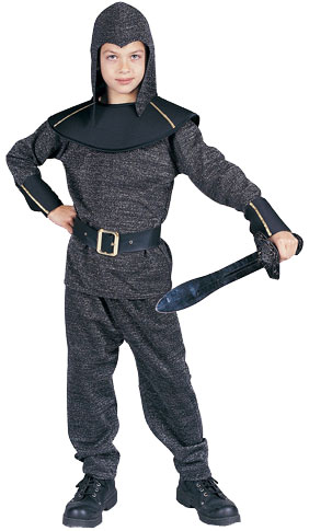 Child's Silver King Arthur Costume
