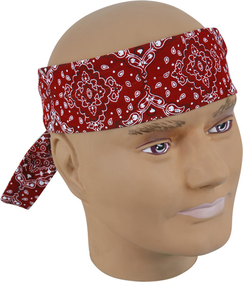 Paisley Cooling Bandanas In Assorted Colors