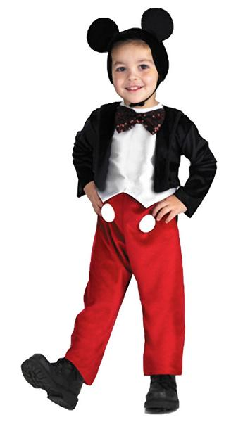 Child's Mickey Mouse Costume