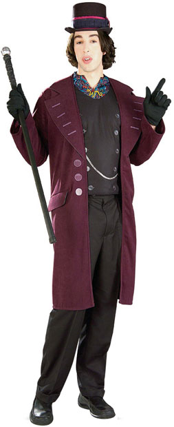 wonka adult Willy costume