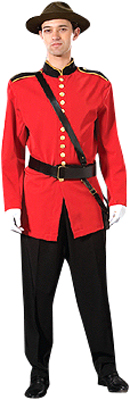 Deluxe Adult Mountie Costume