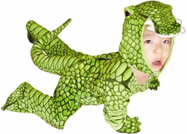 Child's Alligator Costume
