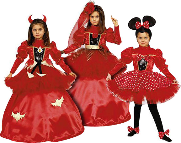 Girl's 3-in-1 Costume Dress Set