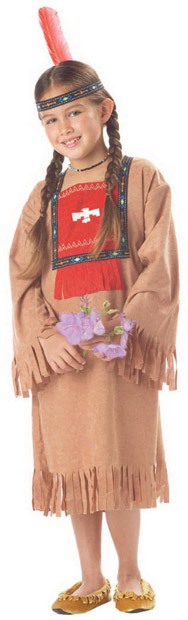 Child's American Indian Girl Costume