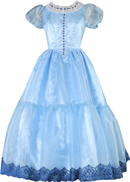 High Quality Alice in Wonderland Costume Dress