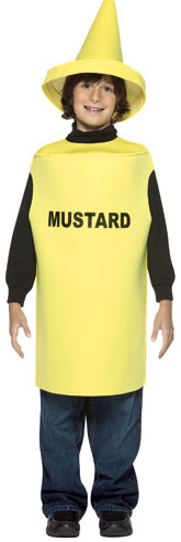 Child's Mustard Bottle Costume
