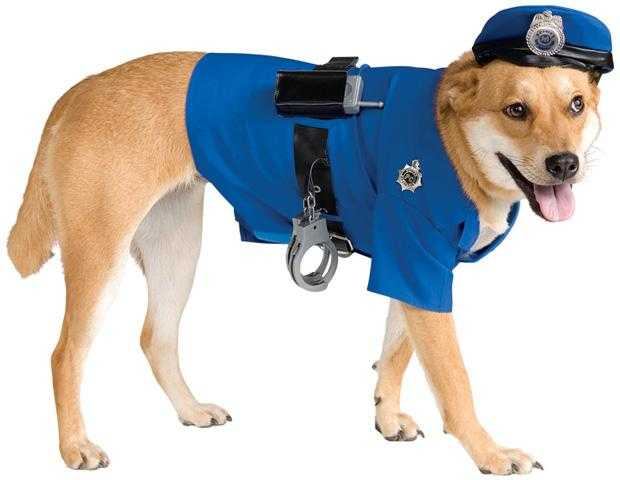 Deluxe Police Dog Costume