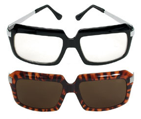 Men's 80's Style Glasses
