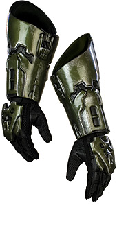 Halo Masterchief Spartan Costume Gloves