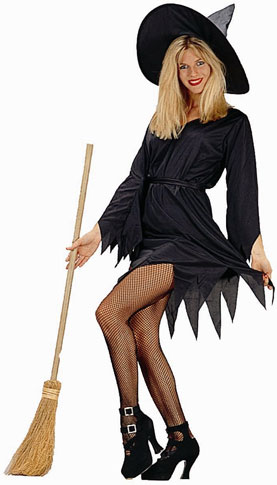 Adult Classic Black Witch Costume