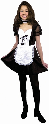 Can recommend young teens in french maid costumes