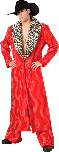 Red Pimp Suit Theater Costume