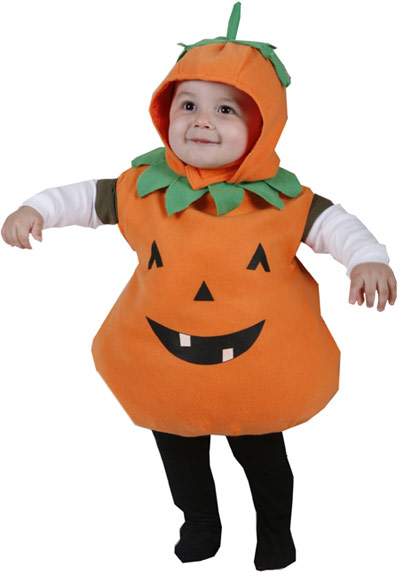 Toddler Plump Pumpkin Costume