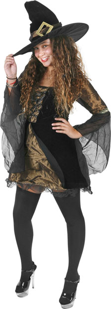 Teen Sweet & Sexy Witch Costume