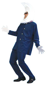 Adult Moon Man Costume