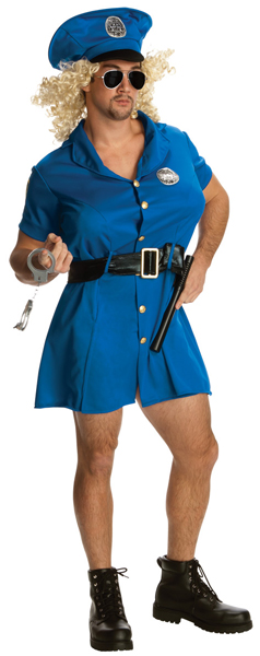 Cross Dressing Cop Costume
