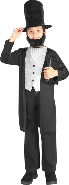 Child's Abraham Lincoln Costume