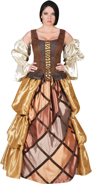 Women's Full Length Pirate Gown