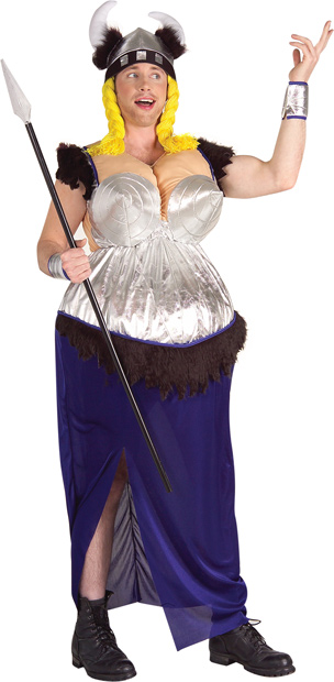 Adult Fat Lady Singing Costume