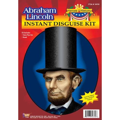 Abraham Lincoln Costume Kit