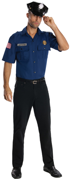 Blue Police Uniform