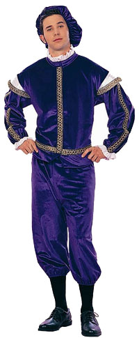 Adult Renaissance Royal King Costume