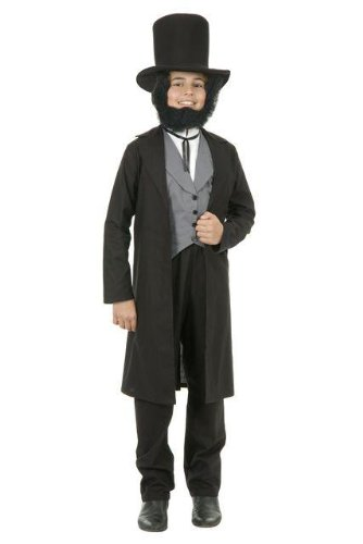 Child's Deluxe Abe Lincoln Costume