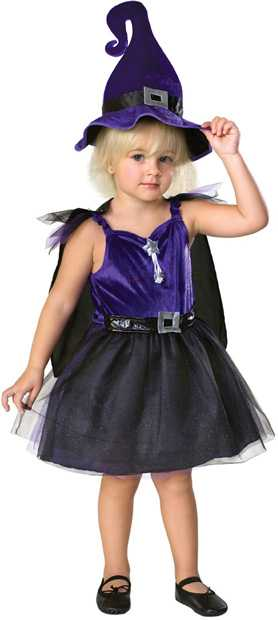 Toddler Storytime Witch Costume