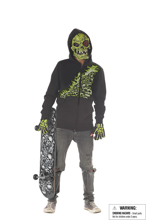 Preteen Green Bone Chiller Costume