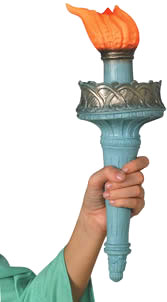 Statue of Liberty Torch Prop