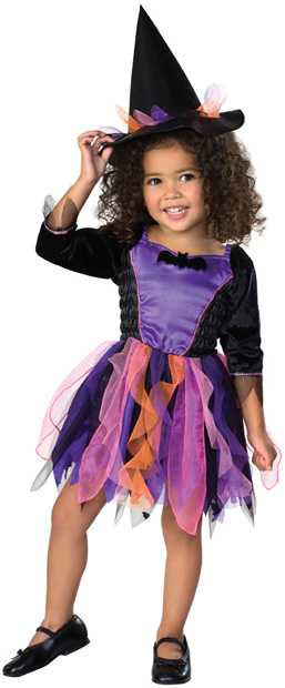 Toddler Ribbon Witch Costume