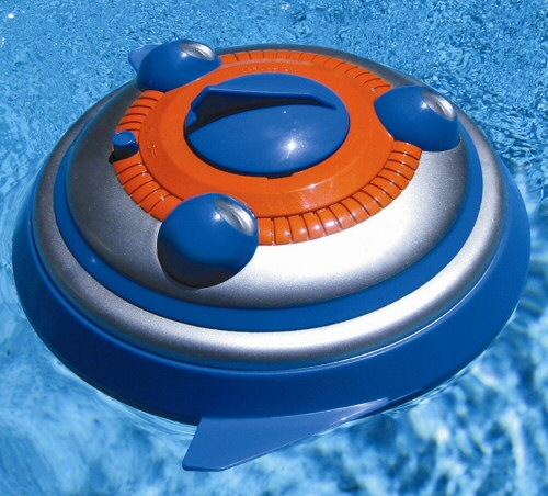 Remote Control Spinning Squirter Pool Toy