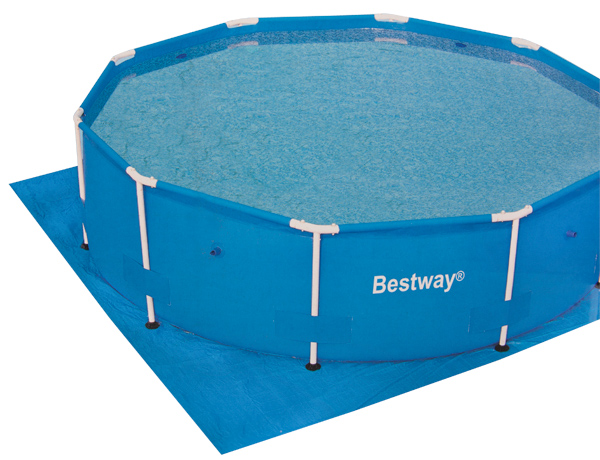 11' x 11' Ground Cloth for 10' Diameter Pools