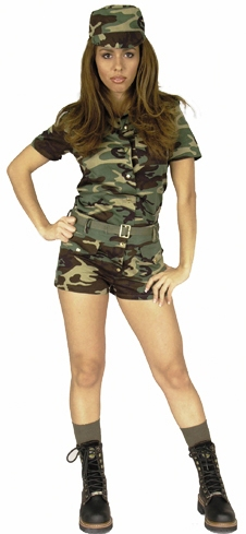 Adult Women's ARMY GI Costume