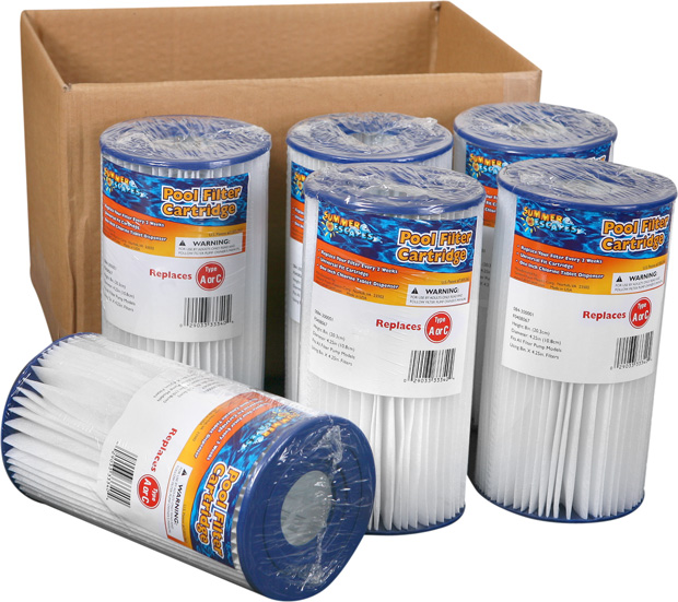 Summer Escapes Type C Filter Cartridge Case of 6