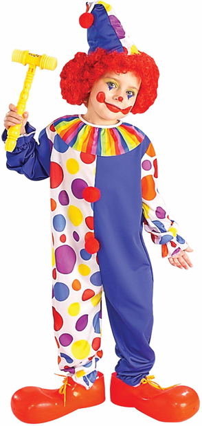 Child's Classic Clown Costume