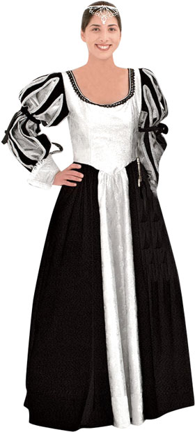 Women's French Renaissance Theater Costume