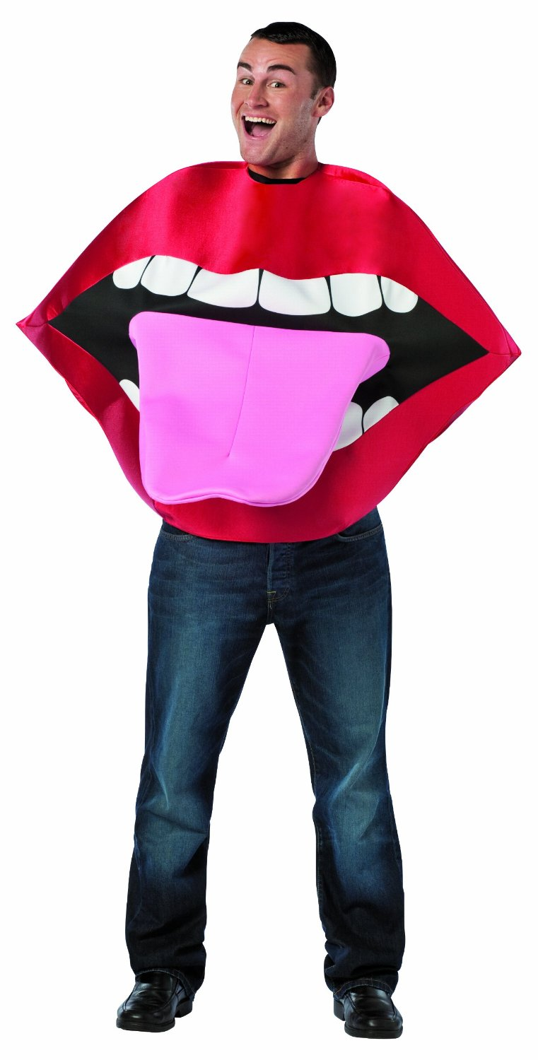 Adult Lips u0026 Tongue Costume  sc 1 st  Brands On Sale & Funny Unique Costumes | Funny Halloween Costumes | brandsonsale.com