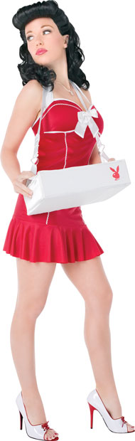 Sexy Playboy Cigarette Girl Costume