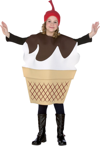 Child's Ice Cream Sundae Costume