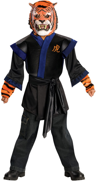 Child's Horrorland Tiger Costume