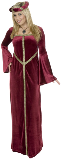 Adult Velvet Guinevere Costume