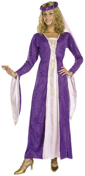 Woman's Renaissance Princess Costume