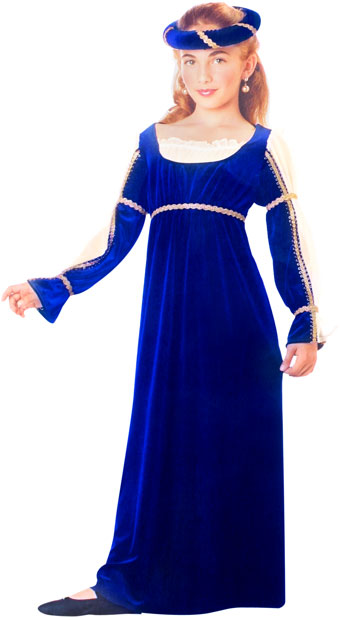 Child's Blue Caterina Costume