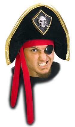 Adult Soft Pirate Hat